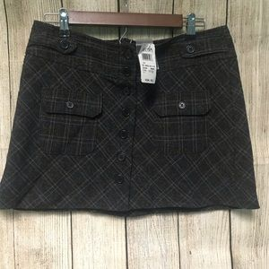NWT dELiAs Plaid Mini Skirt Size 11/12